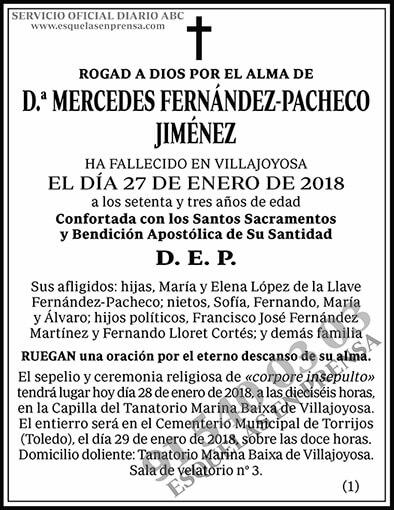 Mercedes Fernández-Pacheco Jiménez